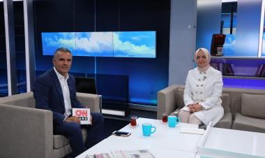 Bakan Kaya, CNN TÜRK'te yayınlanan Hakan Çelik'le Hafta Sonu programının konuğu oldu