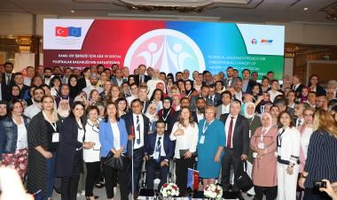 Bakan Kaya, Kamu-STK İşbirliği İçin Aile ve Sosyal Politikalar Bakanlığı'nın Kapasitesinin Güçlendirilmesi Teknik Yardım Projesi'nin açılış törenine katıldı