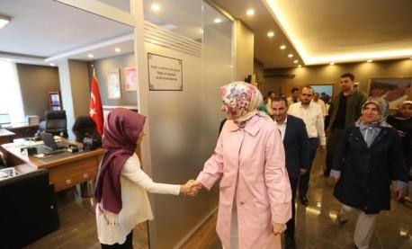 Genel Başkan Yardımcısı Seçim Çalışmasında