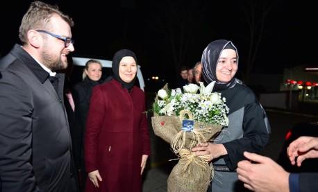 Başkan Kaya Tekirdağ'da Coşkuyla Karşılandı