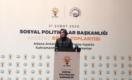 Genel Başkan Yardımcısı Kaya Antalya Bölge Toplantısına Katıldı