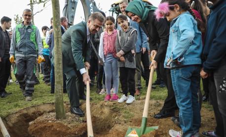 Kaya Milli Ağaçlandırma Günü Etkinliklerine Katıldı